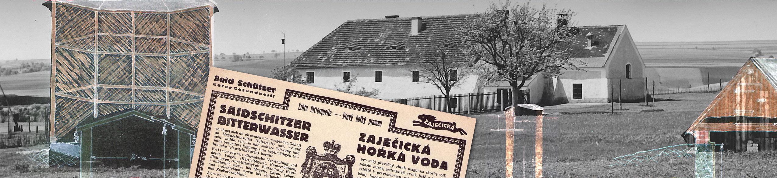 Zaječická hořká voda stojí u samého zrodu českého lázeňství a užívá se v lázních Karlovy Vary a Teplice. (Carlsbade und Töplitz)